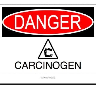 bahaya karsinogen